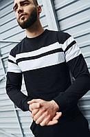Повседневная мужская кофта черная, мужской свитшот, стильный свитер Asos Турция