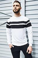 Повседневная мужская кофта белая, мужской свитшот, стильный свитер Asos Турция
