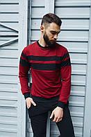 Повседневная мужская кофта красная, мужской свитшот, стильный свитер Asos Турция