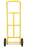 Тележка платформенная ручная, грузовая, 150 кг, 1100х460х400 мм., фото 3