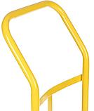 Тележка платформенная ручная, грузовая, 150 кг, 1100х460х400 мм., фото 5