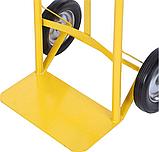 Тележка платформенная ручная, грузовая, 150 кг, 1100х460х400 мм., фото 7