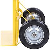 Тележка платформенная ручная, грузовая, 150 кг, 1100х460х400 мм., фото 8