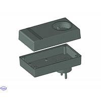 Z27 PS (Kradex) корпус, черный, 46x70x120мм, комплект