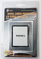 Защита экрана GGS screen protector Canon 50D, 5D MarkII