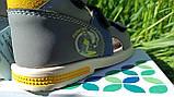 Шкіряні сандалії для хлопчика Tom.m 7149A, 21-26 розміри., фото 2