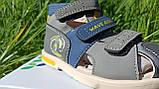 Шкіряні сандалії для хлопчика Tom.m 7149A, 21-26 розміри., фото 3