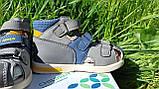 Шкіряні сандалії для хлопчика Tom.m 7149A, 21-26 розміри., фото 8