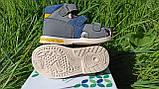 Шкіряні сандалії для хлопчика Tom.m 7149A, 21-26 розміри., фото 9