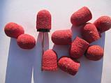 Насадки для фрезера средние педикюрные 80 гр насадка + 10 колпачков, фото 3