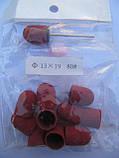 Насадки для фрезера средние педикюрные 80 гр насадка + 10 колпачков, фото 4