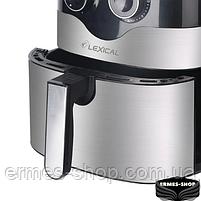 Фритюрница Lexical LAF-3004 | Электрический аэрогриль | 1800W | 8 л., фото 2