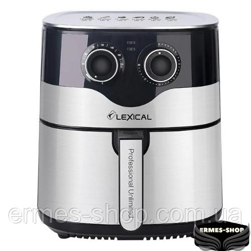 Фритюрница Lexical LAF-3004 | Электрический аэрогриль | 1800W | 8 л.