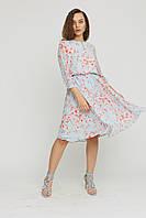 Красиве жіноче плаття в 2х кольорах KLIPS