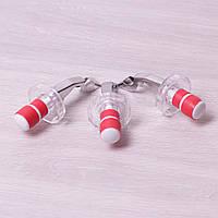 Набор пробок для бутылок | с открывалками | 3шт | пробка для бутылки