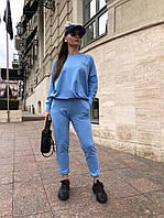 Спортивний костюм жіночий оверсайз двухнитка 44-50, фото 1