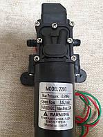 Насос электрический KF-2203 12 В с датчиком давления для электроопрыскивателей
