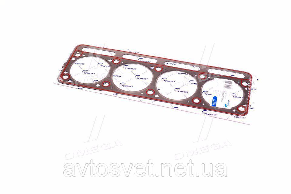 Прокладка головки блоку УАЗ дв.421 під газ металліз з гермет. (TEMPEST) 421.1003020
