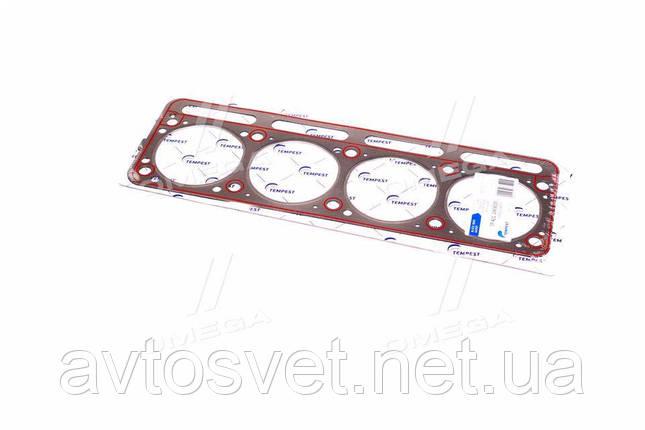 Прокладка головки блоку УАЗ дв.421 під газ металліз з гермет. (TEMPEST) 421.1003020, фото 2