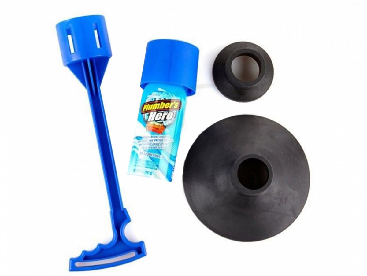 Вантуз Plumber's Hero для ефективної чищення стічних і каналізаційних труб