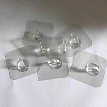 Гачки на клейкій основі Small HANGER plastic 10 шт