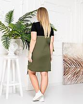 Платье 812 хаки, фото 2