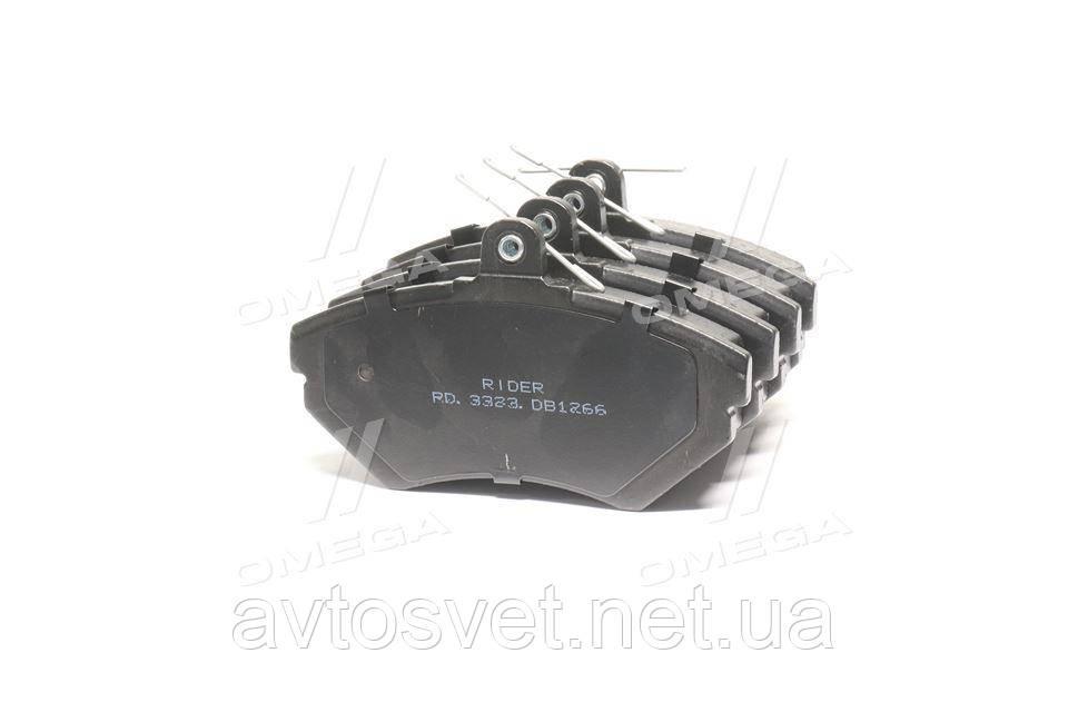 Колодка торм. диск. AUDI A4, VW PASSAT 96-00 передн. (RIDER) RD.3323.DB1266