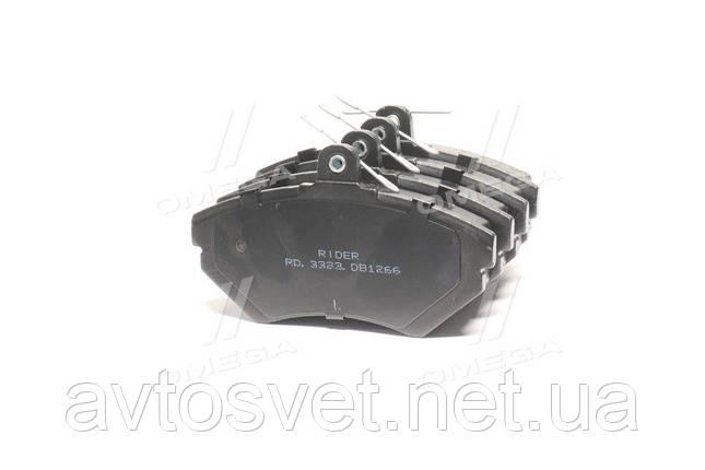 Колодка торм. диск. AUDI A4, VW PASSAT 96-00 передн. (RIDER) RD.3323.DB1266, фото 2