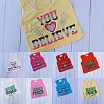 Майки боксёрки для девочек 5-12 лет, фото 3