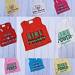 Майки боксёрки для девочек 5-12 лет, фото 2