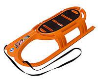 KHW Kunststoff  Санки Snow Tiger (оранжевый) KHW Kunststoff                                                   46,00