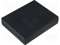 Z28P PS (Kradex) корпус, черный, 143,3x119x37,4мм