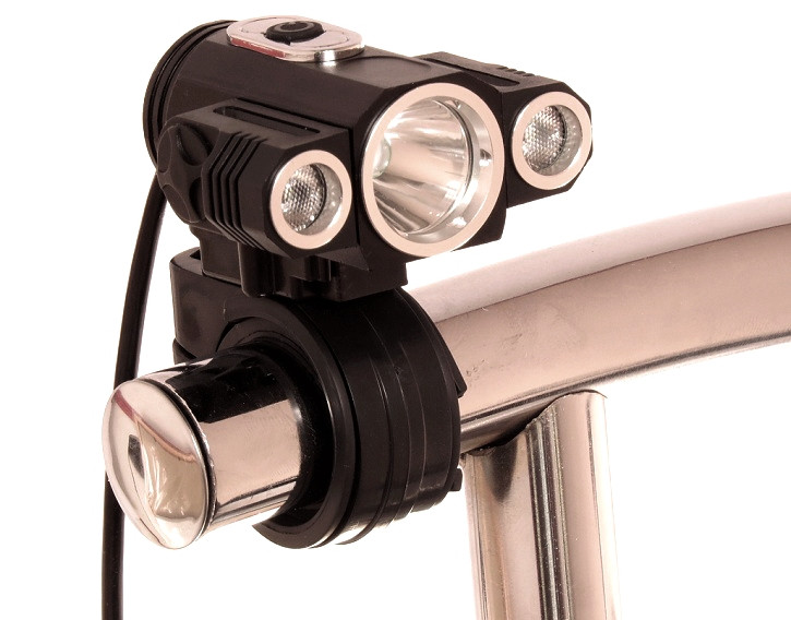 Налобний-велосипедний ліхтар Police BL-1825 T6