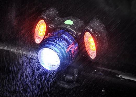 Велосипедний ліхтар BG-658+2COB