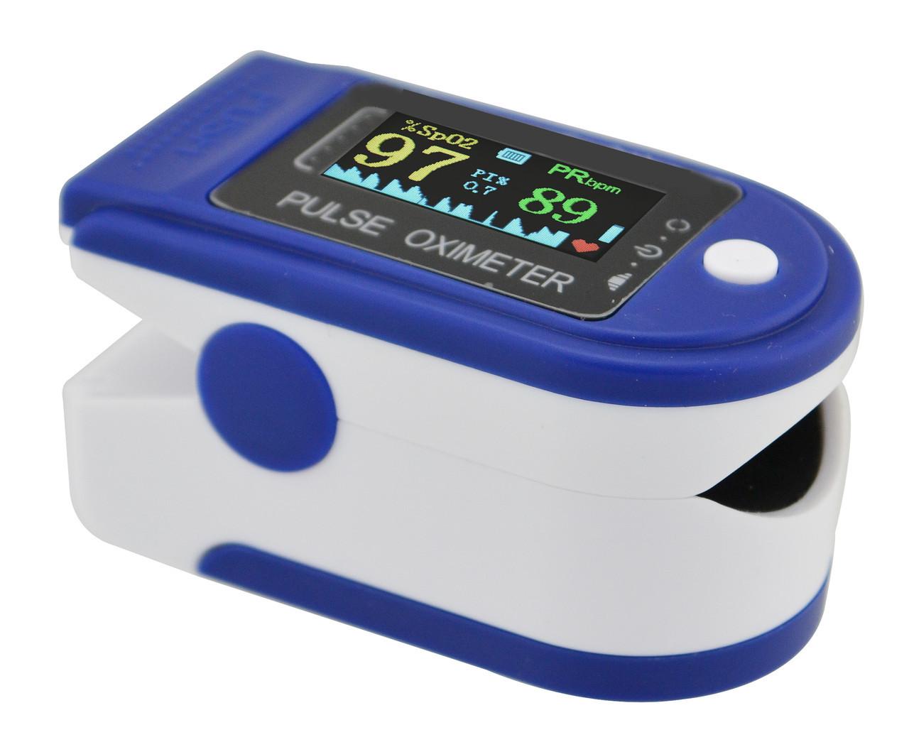 Пульсоксиметр пульсометр для вимірювання пульсу Fingertip Pulse Oximeter