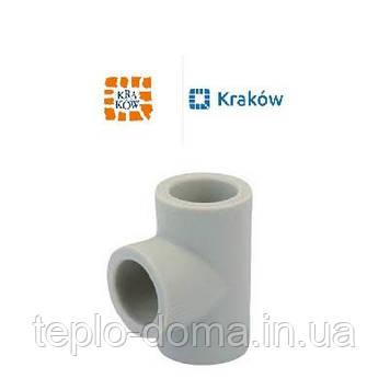 ТРОЙНИК РАВНЫЙ PP-R D50 KRAKOW