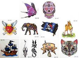 Татуировки переводные детские мини