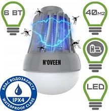 Портативна LED лампа для комах на батарейках Noveen IKN823 LED ІРХ4