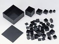 G505015B (Gainta, корпус, ABS, черный, 50x50x15мм)