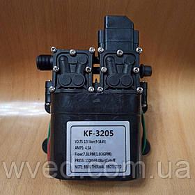 Насос 12 В KF-3205 повышенной производительности с датчиком давления