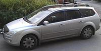 Дефлекторы окон ( ветровики ) Ford Focus II универсал 2005-2011 г. Ветровики форд фокус 2 накладные на скотче