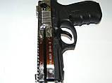 Пістолет стартовий Stalke (Zoraki) 2918 s shiny crome Engraved, фото 3