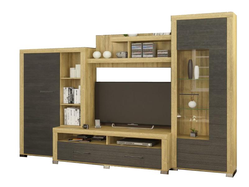Гостиная Неон-1 Мебель Сервис