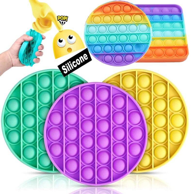 Сенсорная игрушка для ребенка    Поп Ит Pop It fidget