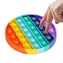 Сенсорная игрушка для ребенка    Поп Ит Pop It fidget, фото 4