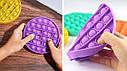 Сенсорная игрушка для ребенка    Поп Ит Pop It fidget, фото 5