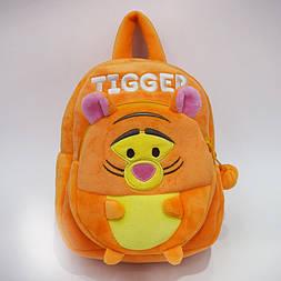 Детский рюкзак для самых маленьких плюшевый 1-3 года Тигрюля Disney
