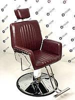 Кресло парикмахерское с подголовником УНИВЕРСАЛЬНОЕ кресло для салона красоты барбершоп мебель VM01