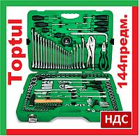 Toptul GCAI144R. 4-32 мм. Набор инструмента автомобильный, большой, профессиональный, инструментов для авто