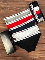 Набор женских трусов Tommy Hilfiger Sleep Чёрный, Серый, Белый, Синий, Красный